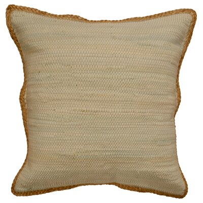 Yarrow Throw Pillow Color: Tan
