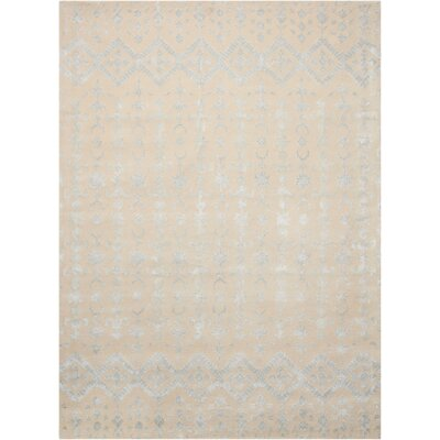 Darroll Ivory Area Rug Rug Size: Rectangle 96 x 13