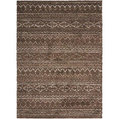 Strassen Latte Area Rug Rug Size: Rectangle 5 x 7