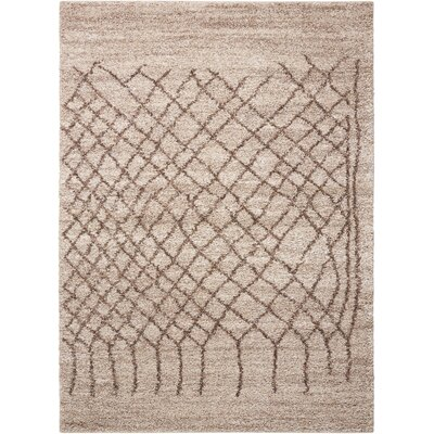 Strassen Bone Area Rug Rug Size: Rectangle 5 x 7