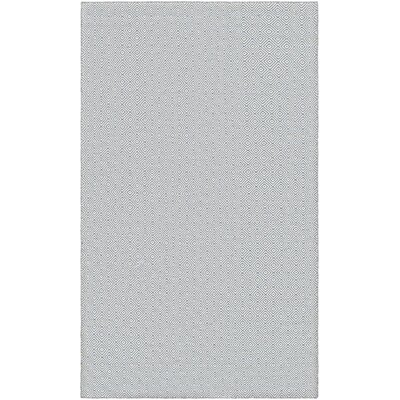 Alonso Hand-Woven Gray Geometric Indoor/Outdoor Area Rug Rug Size: Rectangle 3 x 5