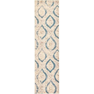Rialto Cream Area Rug Rug Size: Runner 2'7