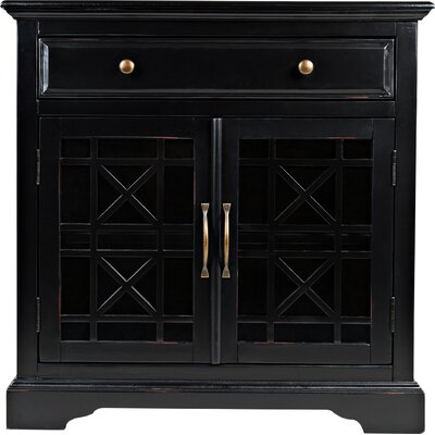 Tavera 1 Drawer 2 Door Accent Cabinet by Bungalow Rose