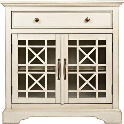 Tavera 1 Drawer 2 Door Accent Cabinet Color: Antique Cream