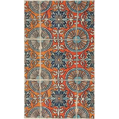 Blair Orange Area Rug