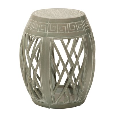 Olivine End Table Finish: Antique Green