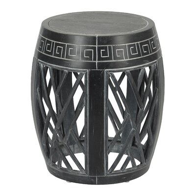 Fitchburg End Table Color: Antique Black