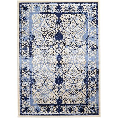 Imperial Blue Area Rug Rug Size: 7 x 10