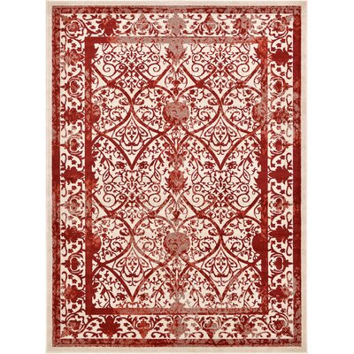 Mya Terracotta Area Rug Rug Size: Rectangle 8 x 11