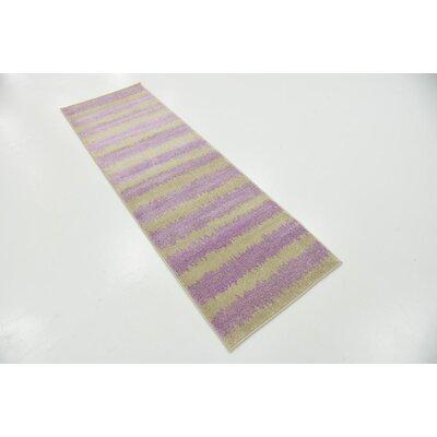 Kala Lavender Area Rug Rug Size: Runner 3 x 10