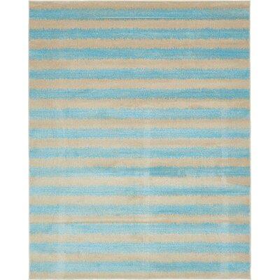 Randeep Blue/Beige Area Rug Rug Size: 8' x 10'