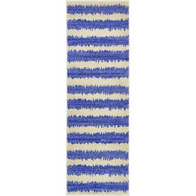 Randeep Blue/Beige Area Rug Rug Size: Runner 2 x 6