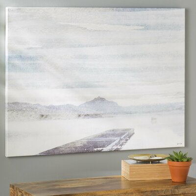 Perfect Day Painting Print on Wrapped Canvas