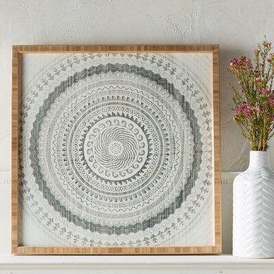'Winter Wheat' Framed Graphic Art