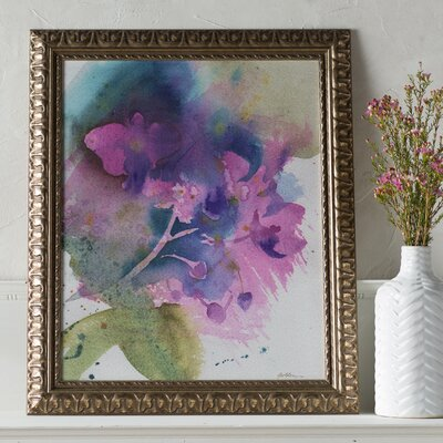 Orchid Dream Ornate Framed Painting Print
