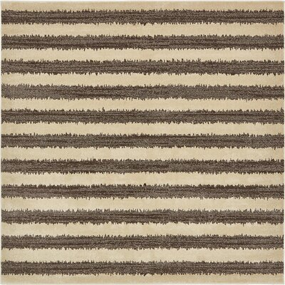 Randeep Brown/Beige Area Rug Rug Size: Square 8'