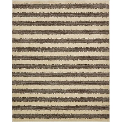 Randeep Brown/Beige Area Rug Rug Size: 8' x 10'