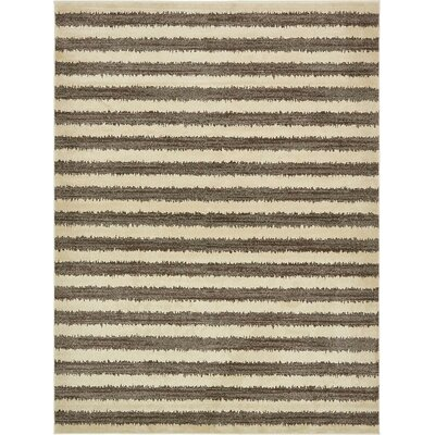 Randeep Brown/Beige Area Rug Rug Size: 9' x 12'