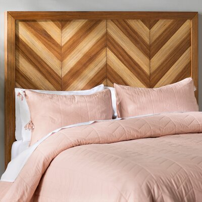 Florentin Wood Frame Panel Headboard Size: King/California King