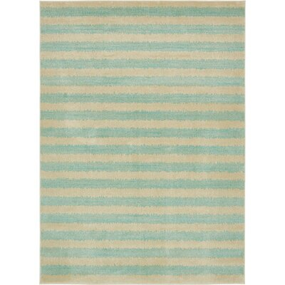 Travis Green/Beige Area Rug Rug Size: Runner 3 x 10