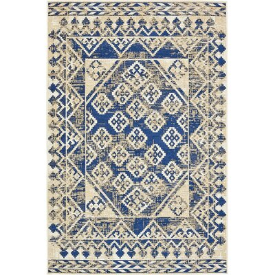 Richmond Navy Area Rug