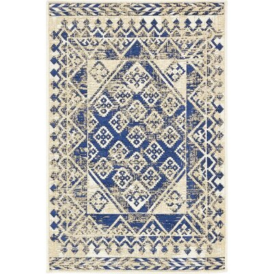 Richmond Navy Area Rug Rug Size: 3 x 5