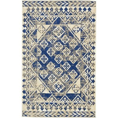 Richmond Navy Area Rug Rug Size: 6 x 9