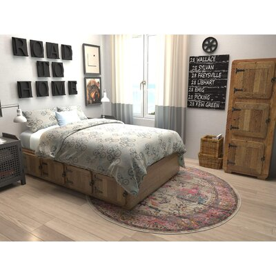 Sepe Area Rug Rug Size: Round 6 x 6