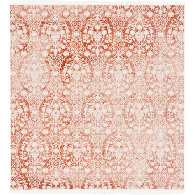 Wilton Terracotta Area Rug Rug Size: Square 8'