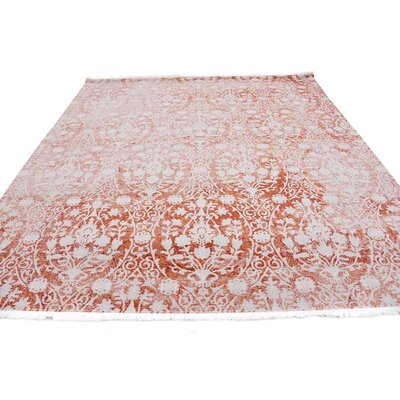 Patenaude Terracotta Area Rug Rug Size: Rectangle 33 x 53