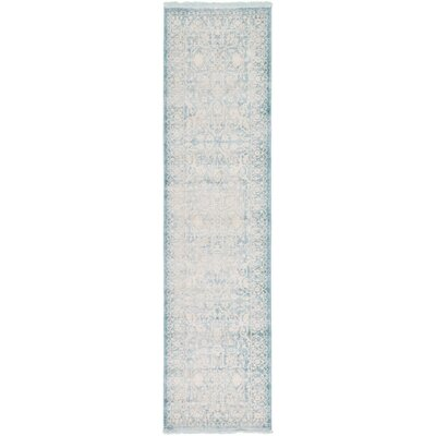 Wilton Light Blue Area Rug Rug Size: Runner 2'7