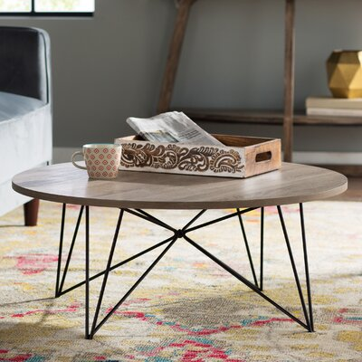 Martina Coffee Table Top Color: Light Tan