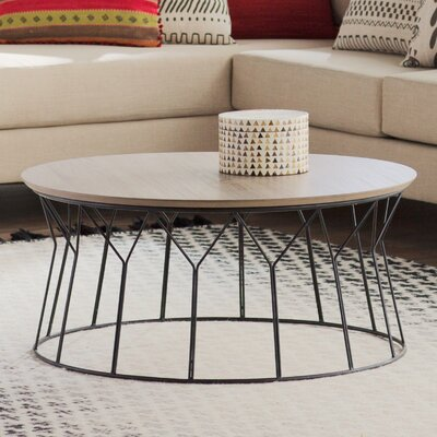 Daya Coffee Table Top Finish: Light Gray