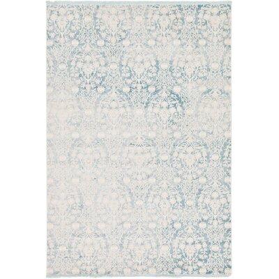 Wilton Light Blue Area Rug Rug Size: 7 x 10