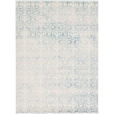 Patenaude Light Blue Area Rug Rug Size: 10 x 13