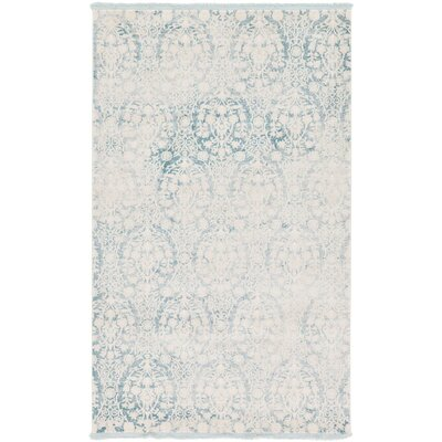 Patenaude Light Blue Area Rug Rug Size: Rectangle 5 x 8