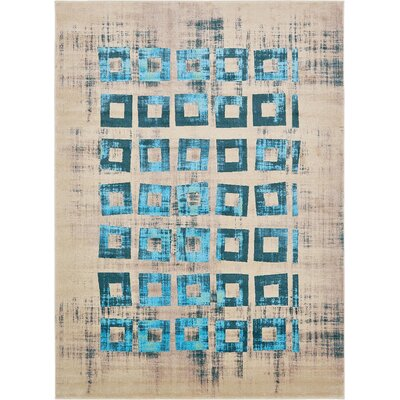 Annisville Teal Area Rug Rug Size: 8' x 11'