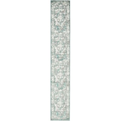 Brandt Green Area Rug Rug Size: Rectangle 4 x 6