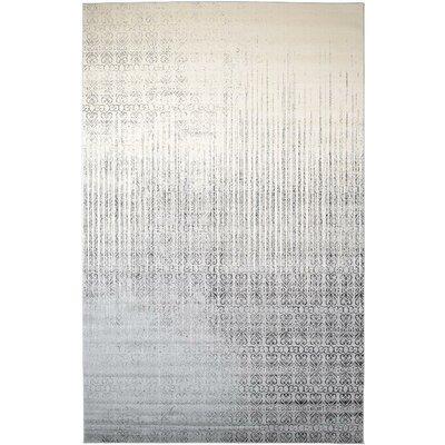 Deniece Gray Area Rug Rug Size: 10 x 16