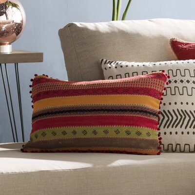 Fressia Rectangular Cotton Lumbar Pillow