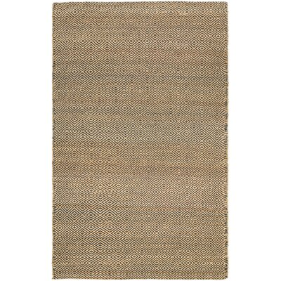 Uhlig Hand-Woven Linen Area Rug Rug Size: Rectangle 35 x 55