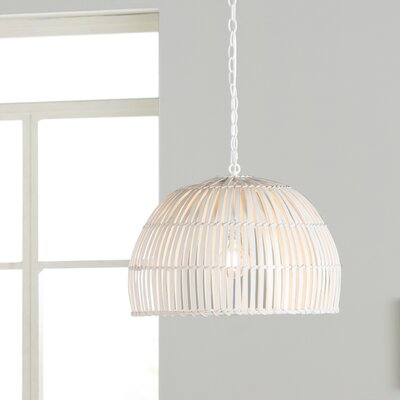 Delmore 1-Light Bowl Pendant