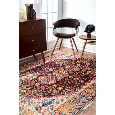 Deja Area Rug Rug Size: Rectangle 53 x 77