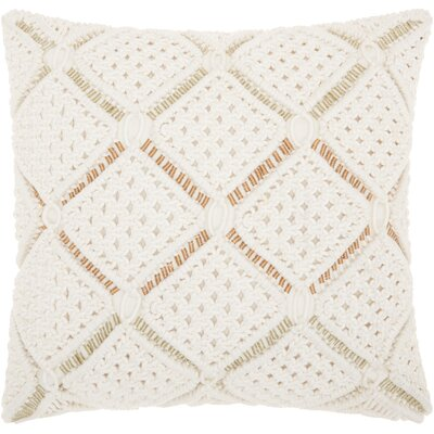 Dennet 100% Cotton Throw Pillow