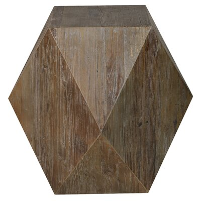 Bowen Hexagon Side Table by Kosas Home