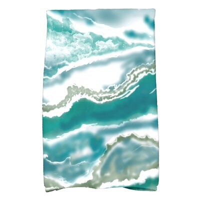 Soluri Hand Towel Color: Teal
