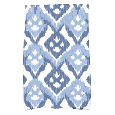 Geometric Hand Towel Color: Blue