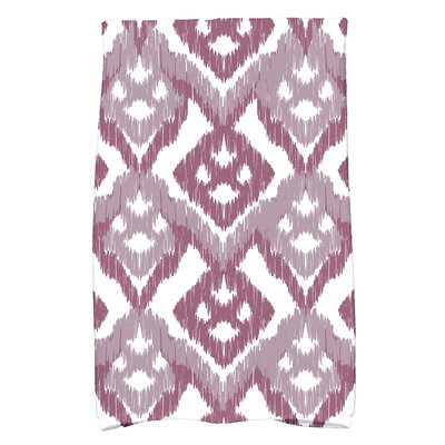 Geometric Hand Towel Color: Lavender