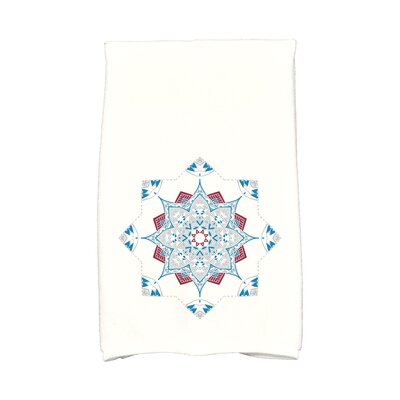 Snowflake Star Hand Towel