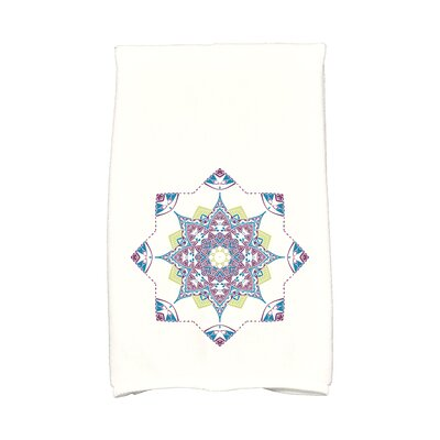 Snowflake Star Hand Towel Color: Purple